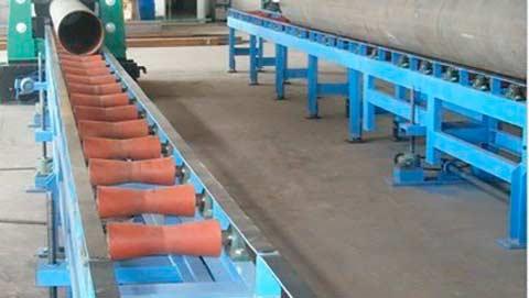 Рольганги для труб и цилиндрических грузов